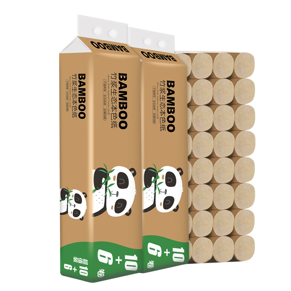 16 Rolls Bathroom Toilet Papers Tissue Bathroom Supplies Gift Primary Bamboo Pulp Toilet Paper Kitchen Tissue