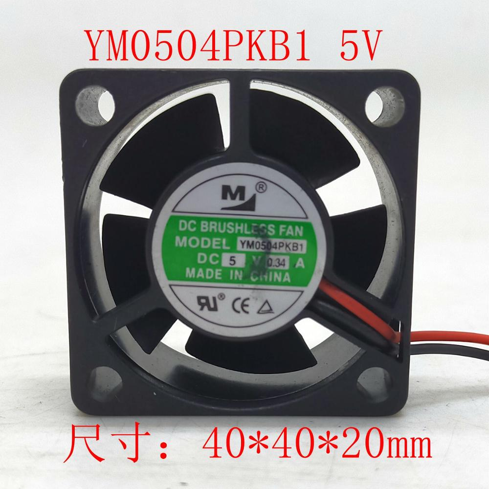 YM0504PKB1 4020 <font><b>5V</b></font> 0.34A COOLING <font><b>FAN</b></font> 40*40*<font><b>20mm</b></font> hzdo image