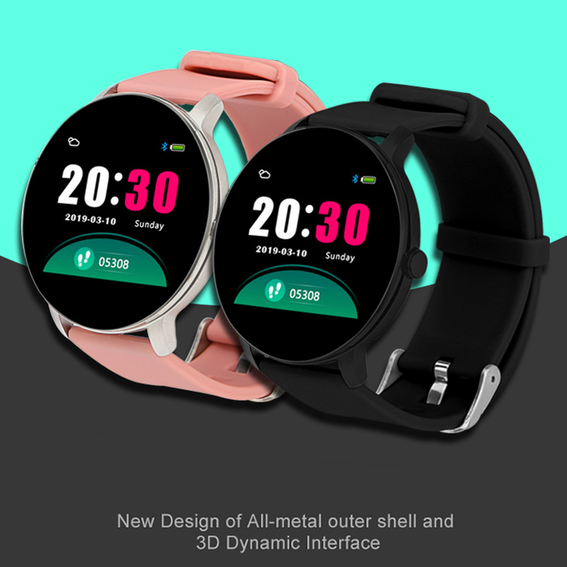 HETNGSYOU <font><b>Q5</b></font> Heart Rate Blood Pressure Oxygen Smart <font><b>Watch</b></font> Men and Women IP67 Waterproof Sports Path Weather Forecast SmartWatch image