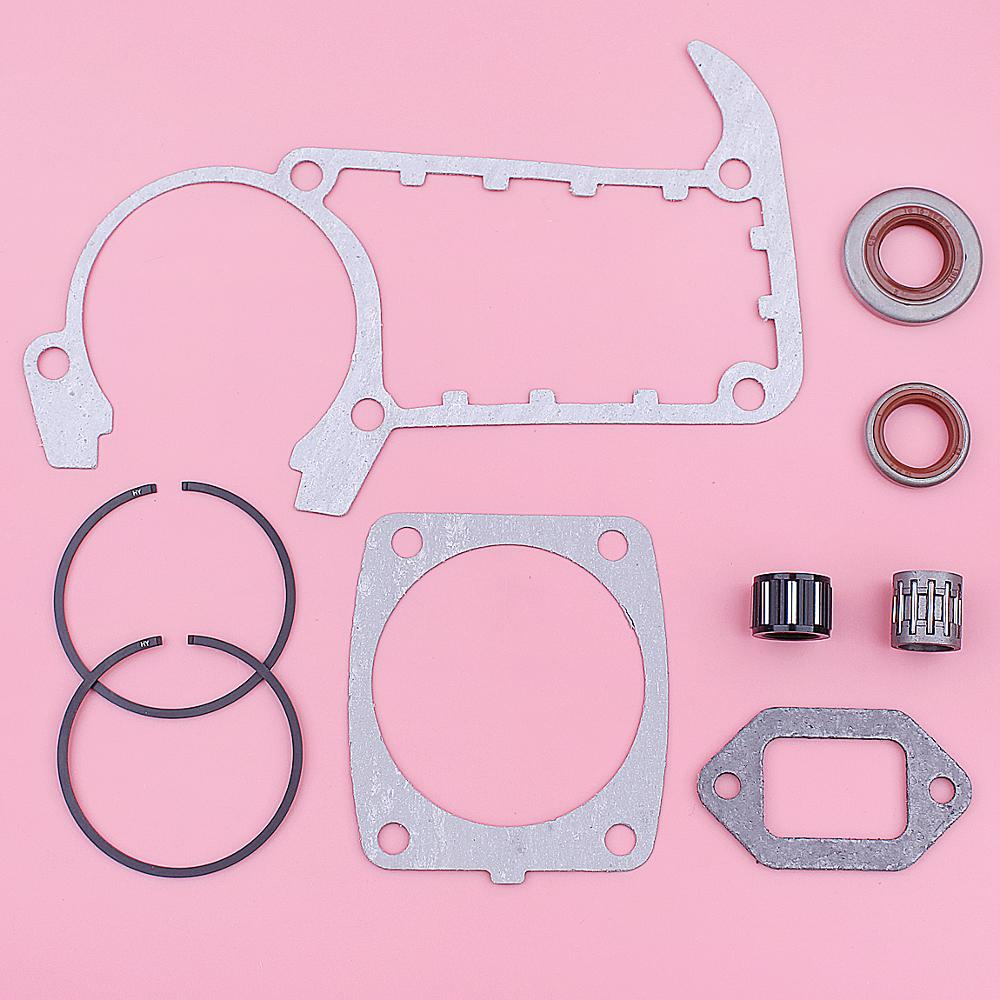 Piston Pin Ring Kit Cylinder Muffler Gasket Oilseal For Stihl MS361 Chainsaw New