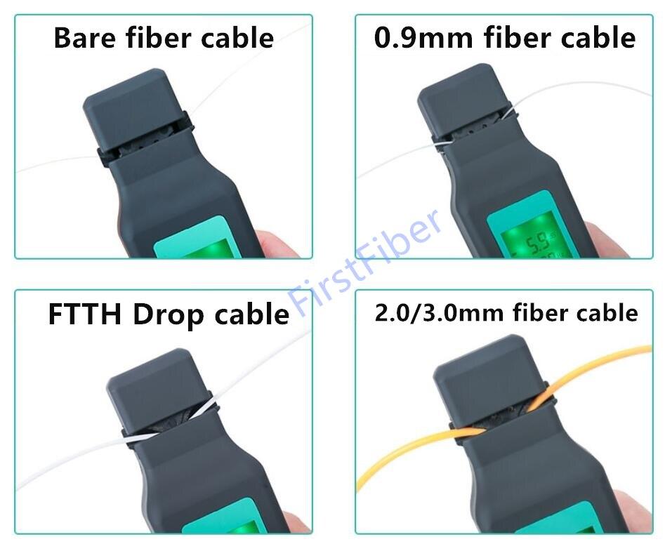 Image 5 - Оптоволоконный идентификатор 750nm 1700nm SM и мм волоконный  кабель FF 3306A-in Оптоволоконное оборудование from Мобильные телефоны и  телекоммуникации on