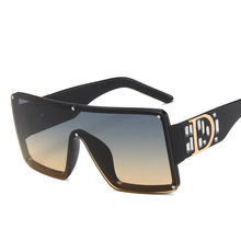 Солнцезащитные очки унисекс уникальные стильные цельнокроеные