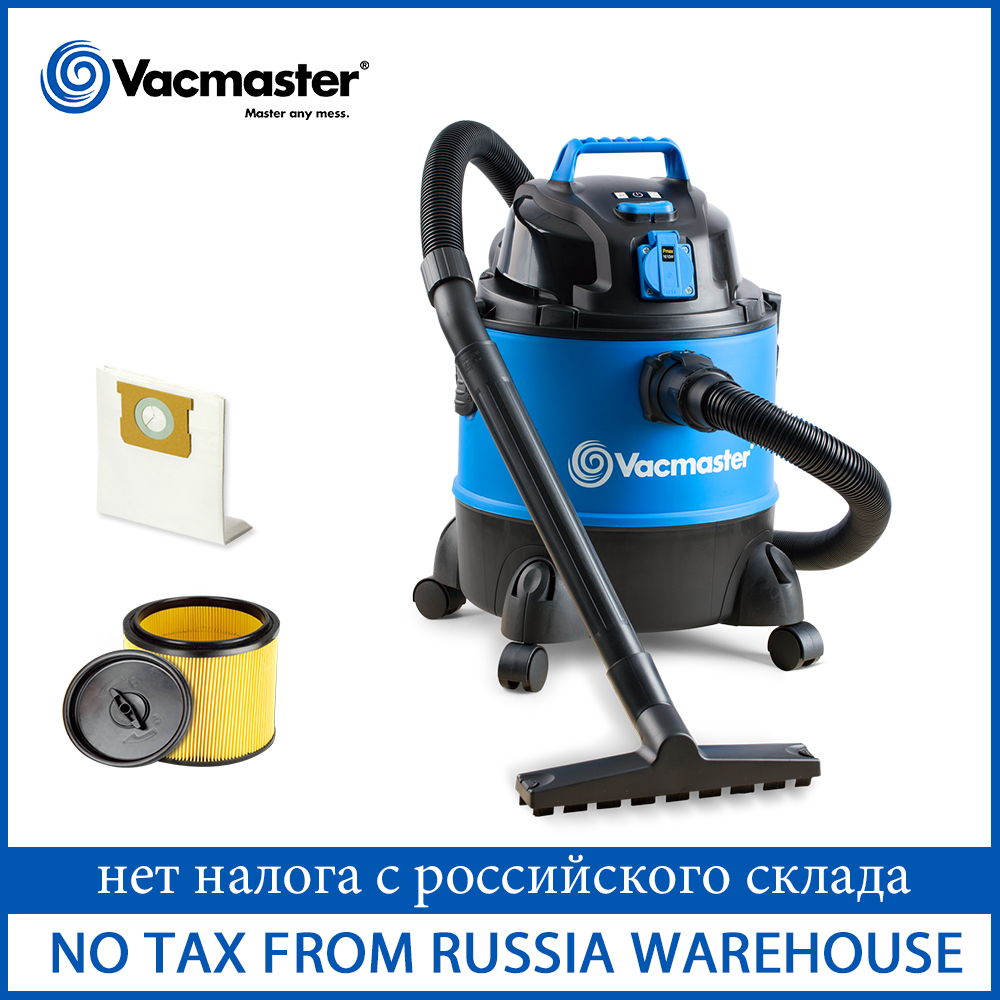 Vacmaster Industrial Vacuum Cleaner With Power Tool Socket Portable Wet And Dry Vacuum Cleaner For Carpet Workshop Home 2020 New
