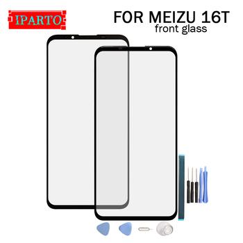 Dla Meizu 16T szklany ekran obiektywu 100 nowy przedni ekran dotykowy szklany obiektyw zewnętrzny dla Meizu 16T + narzędzia tanie i dobre opinie for Meizu 16T Front Glass Lens pieces 0 200kg( 0 44lb ) 19cm x 12cm x 7cm(7 48in x 4 72in 2 75in)