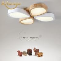 plafon Acrylic LED Ceiling Lights Flower pattern modern luminaria led teto Indoor Ceiling Lamp For Living room Kitchen