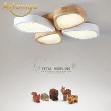 купить plafon Acrylic LED Ceiling Lights Flower pattern modern luminaria led teto Indoor Ceiling Lamp For Living room Kitchen по цене 8539.35 рублей