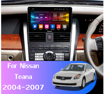 10.1 octa core 1280*720 QLED screen Android 10 Car GPS radio Navigation for Nissan Teana 2000-2007 with 4G/Wifi DSP carplay image