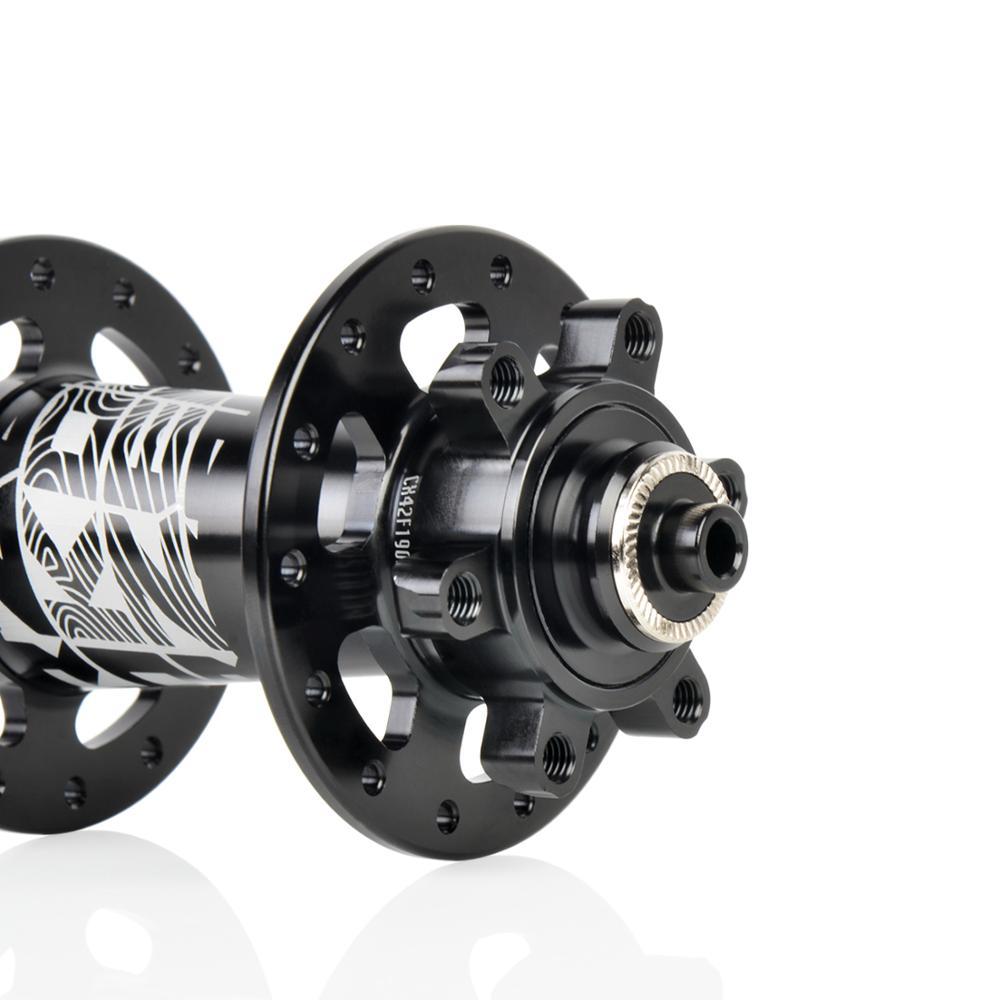 Koozer CX420 6 pions 72 clics 28 trous moyeu de frein à disque de vélo de route 12*100 12*142MM moyeux de vélo QR 8 9 10 11S à travers l'axe D4111QX