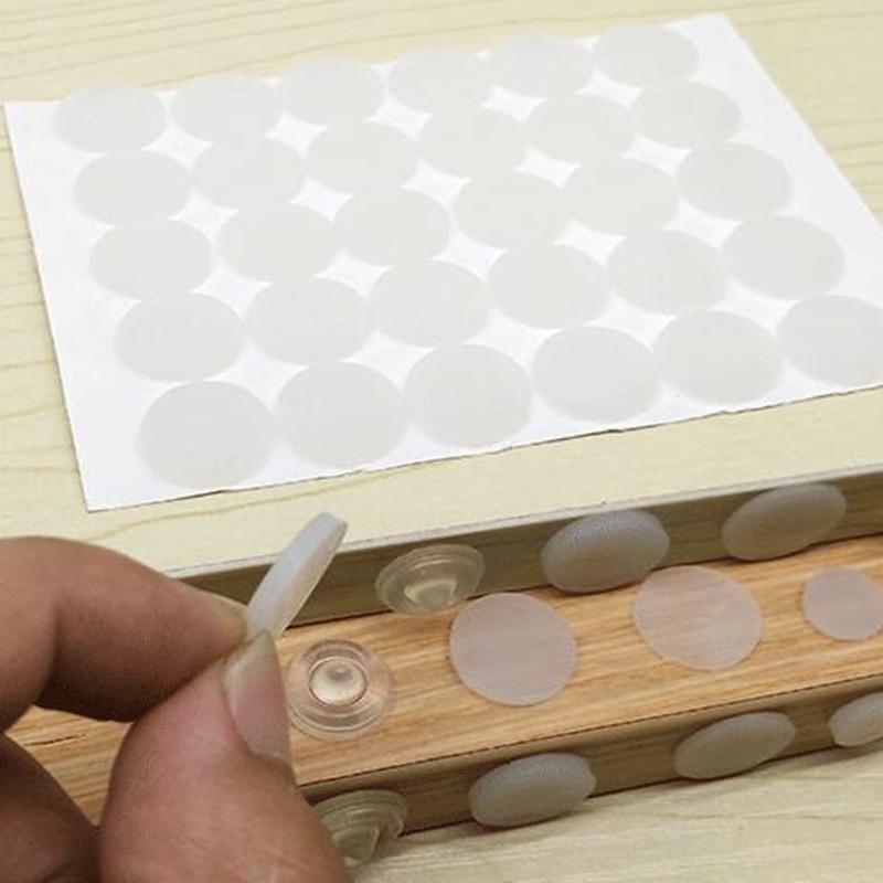 Cabinet Door Bumper 3M Self-adhesive Damper Pads Silicone Feet Pads Rubber Bumper Damper Shock  Closet Furniture Accessorie
