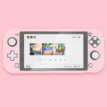 Switch Lite osłona etui ochronne kolorowe śliczne PC sztywne etui Back Grip Shell na przełącznik do nintendo Lite akcesoria do konsoli do gier
