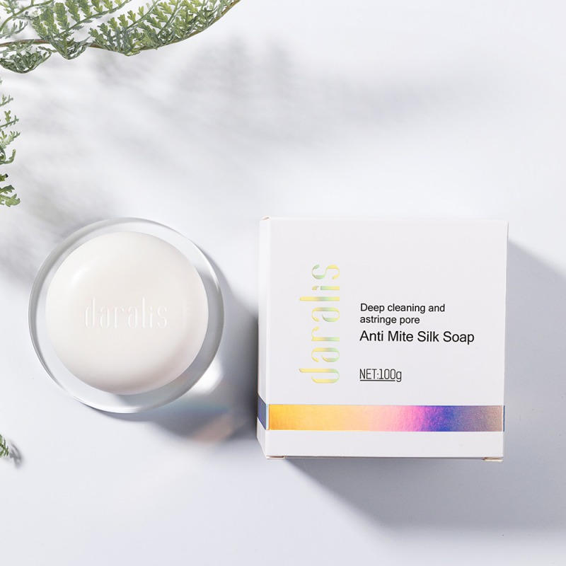 Cleaner Moisturizing Goat Milk Soap Face Care Wash Basis Soap 100g Removal Pimple Pore Acne Treatment Silk Soap FH32