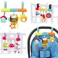 Zachte Baby Wieg Bed Wandelwagen Speelgoed Spiraal Baby Speelgoed Voor Pasgeborenen Autostoel Educatief Rammelaars Baby Handdoek baby Speelgoed 0 -12 maanden 4