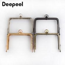 10 шт deepeel 11/13 см из гофрированного металлического квадратный