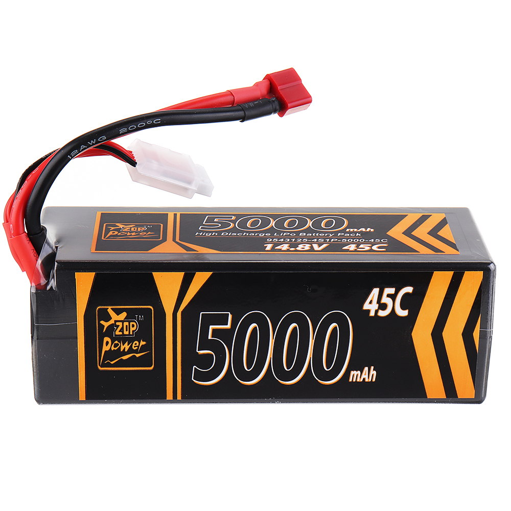 ZOP Power 22.2V 5000mAh 80C 6S Lipo Battery XT60 Plug for RC Drone For Rc Car RC Models RC FPV Racing Drone Airplane Helicopter image