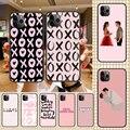 Чехол для телефона для iphone 5 5s se 2 6 6s 7 8 12 mini plus X XS XR 11 PRO MAX черный силиконовый чехол из ТПУ