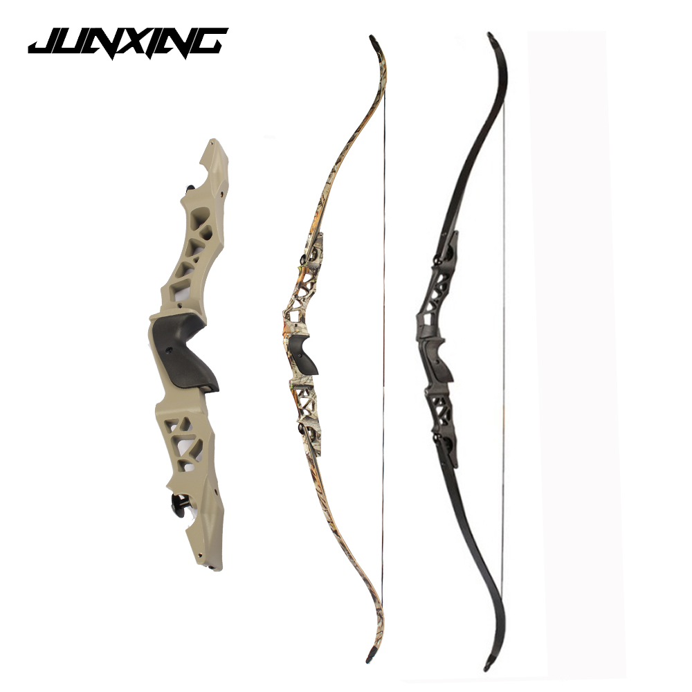 64 Inches 30-60Lbs Recurve Bow Takedown Bow For RH Right Hand User Archery Shooting Hunting Outdoor