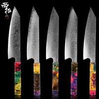XITUO 8 Inch Damascus Chef Knife Japanese Kitchen Knife Sharp Gyuto Slice Knife Santoku Kiritsuke Octagonal Handle Cooking Tool