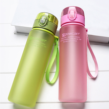 400ml 560ml Bottle for Water Outdoor Sports Eco-friendly with Lid Hiking Camping Plastic My Bottle.