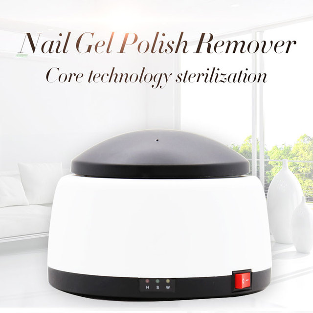 Acetone Soak Off Gel Polish Remover Machine Steam Off UV Gel nail Remover Electric Nail Steamer for Gel Polish Removal Tool Kit