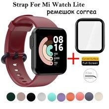 Correa para XiaoMi Mi Watch Lite, brazalete de silicona deportivo de repuesto, Correa para reloj inteligente XiaoMi Mi Watch