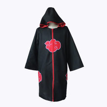 Costume de cosplay Naruto Xiao, Cape d'organisation, robe de nuage rouge, Halloween, roman et intéressant