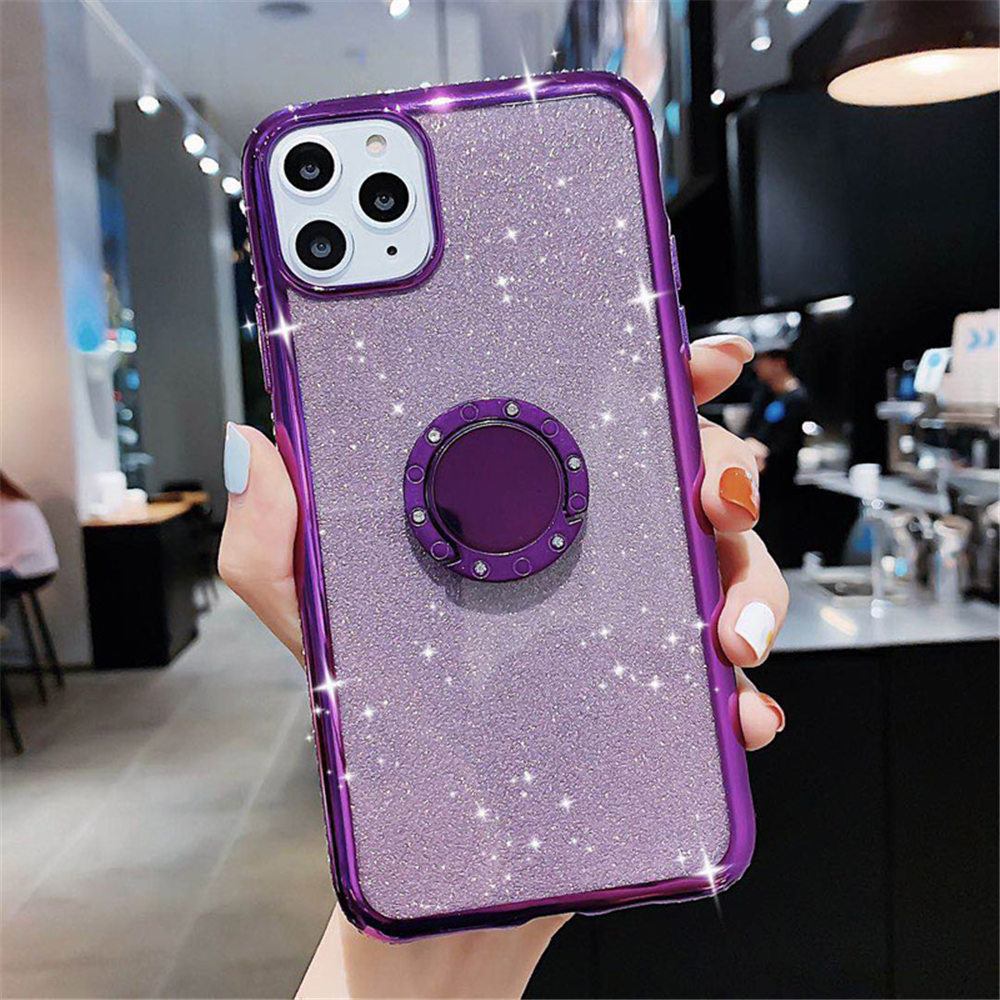 Jewelled Clear iPhone Case 9