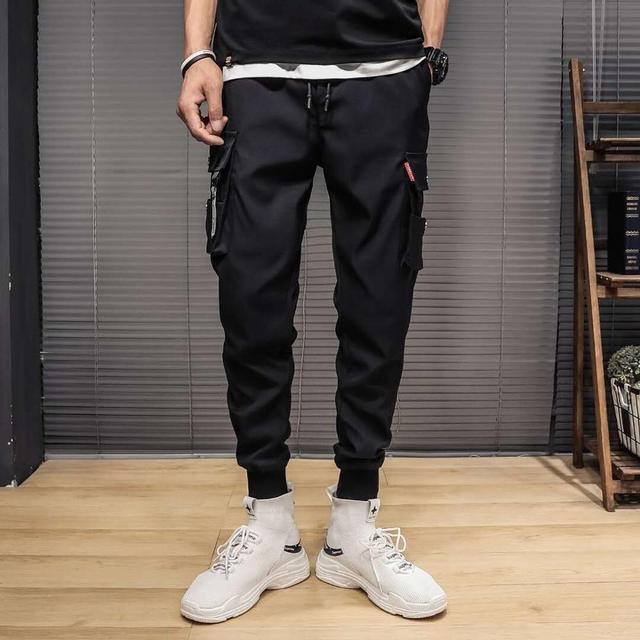 Pantalones de Golf finos para hombre, chándal táctico de trabajo de carga, ropa de verano para Primavera, poliéster, longitud hasta el tobillo, 2021 5