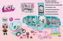 Lol surpresa bonecas original 2-em-1 piquenique carro com 20 lol surpresa avião vestir jogo brinquedos modelo conjuntos para meninas presentes 2