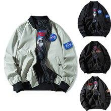 Hommes veste 2021 Spring jacket for men style Casual Streetwear Hip Hop Bomber Jacket