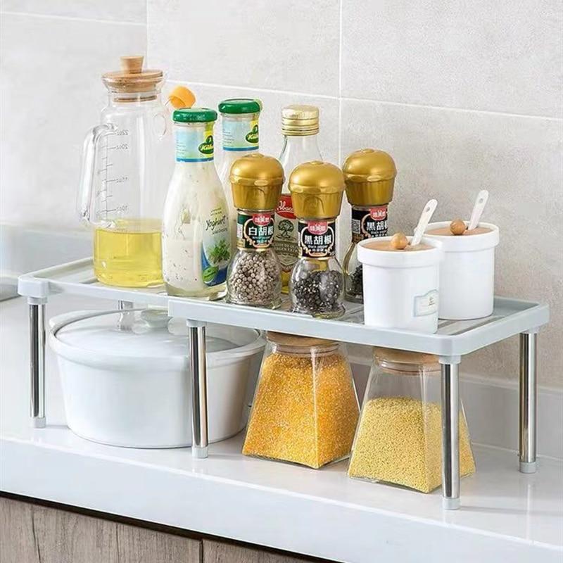Домашний шкаф, органайзер для хранения, Полка для кухни, шкаф, экономия пространства, декоративные полки для шкафа, держатели