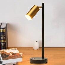 Современные затемнения светодиодный настольная лампа регулируемый