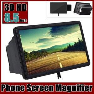Soporte de amplificación estereoscópico HD para teléfono móvil, lupa para pantalla de teléfono móvil 3D, amplificador Versterker para teléfono inteligente