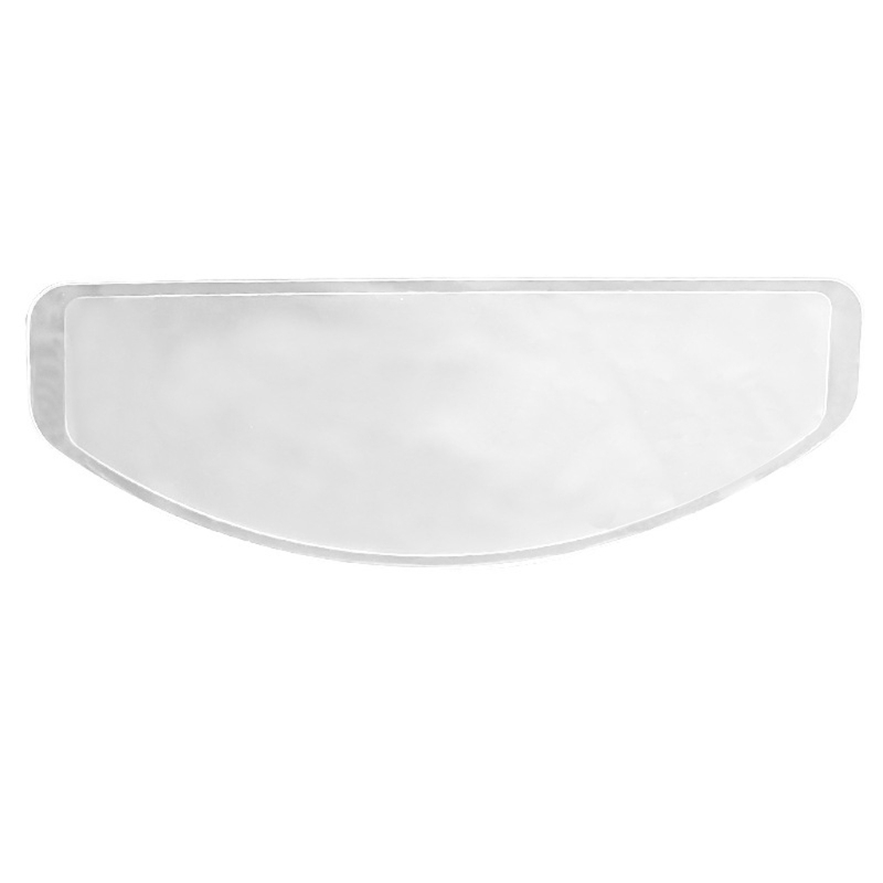 Clear Anti-Fog Patch Film Universal Helmet Lens Film For Motorcycle Visor Shield Fog Resistant Moto Racing Accessories