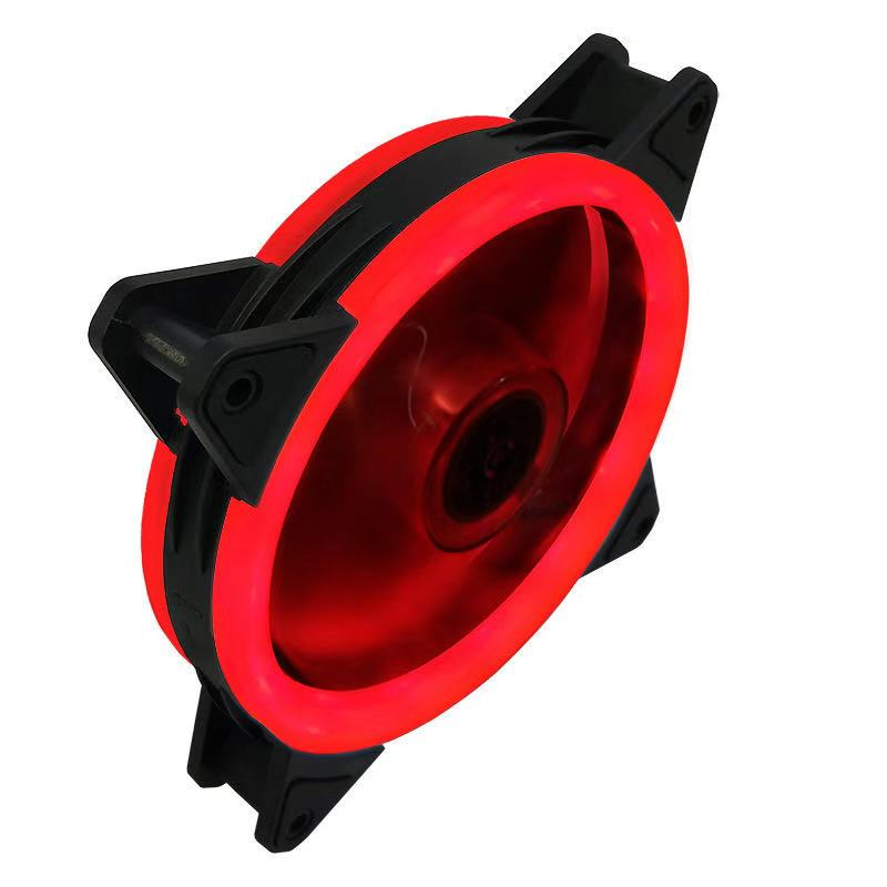 Case Fan  120mm 3pin Colorful Blue Red White Green  Bearing LED Computer Cooling Fan Radiator Ventilador 3