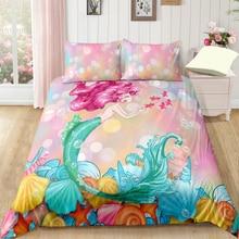 Cartoon Bedding Set For Home Duvet Cover Queen King 4 Size With Pillowcase 3Pcs Bedclothes Textile DropShipping