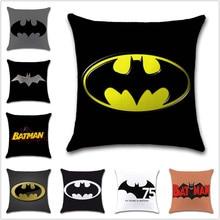 75 years Batman logo sign mark cartoon Cushion Cover Decoration chair Home sofa seat friend kids bedroom gift pillowcase
