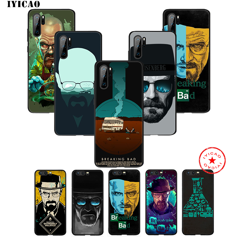 IYICAO Breaking Bad Tv Show Soft Case for Huawei P30 P20 P10 P9 P8 2017 2016 2015 P Smart Z Plus 2019 Mate 20 10 Lite Pro Mini image