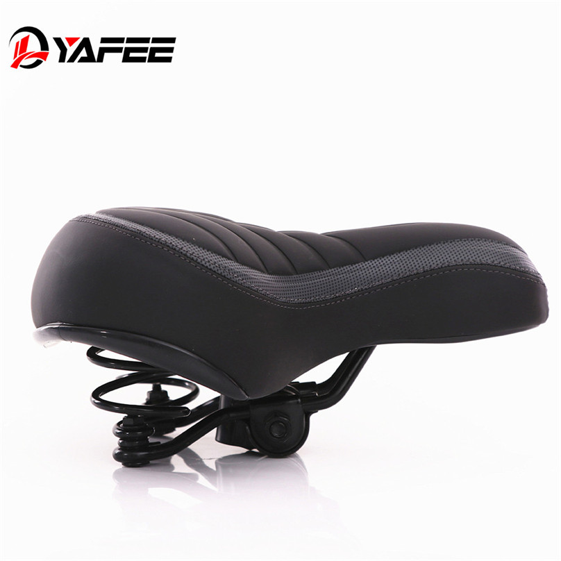 Wide Big Bum Bike Bicycle Gel Cushion Extra Comfort Sporty Soft Pad Saddle Seat