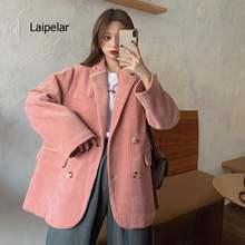 Женский вельветовый костюм в стиле ретро на осень и зиму новинка