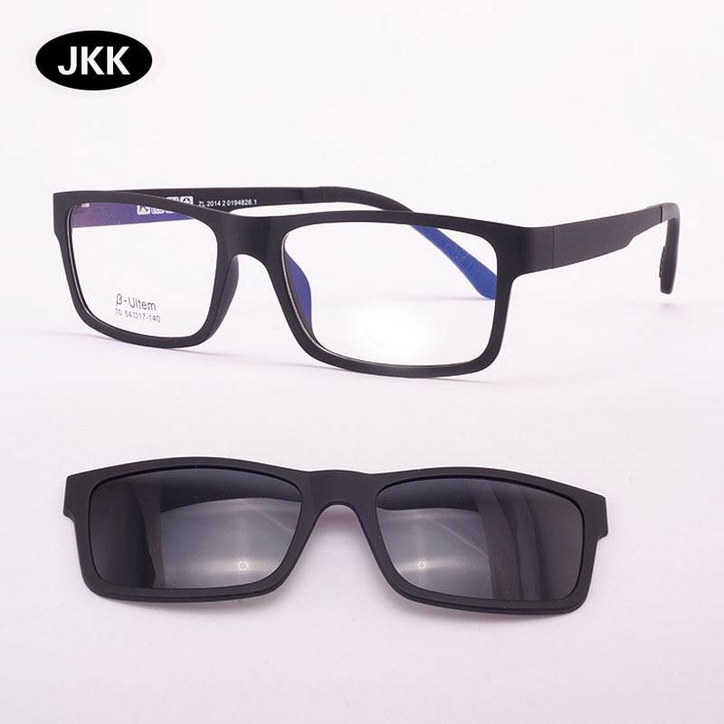 Cermin mata ultra-ringan Kaca Magnet klip Sunglasses Bingkai Myopia - Aksesori pakaian - Foto 4