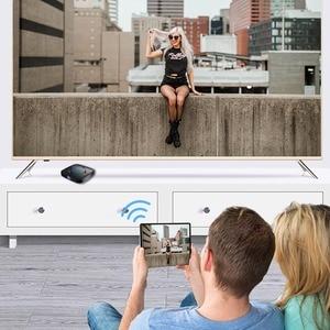Image 4 - וtranspeed 6k טלוויזיה תיבת אנדרואיד 9.0 4GB RAM 32GB Google קול עוזר טלוויזיה תיבת מהיר Wifi Youtube 6K 3D Top Box Media Player