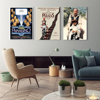 Nuovo Cinema Paradiso Poster Clear Image Wall Stickers Home Decoration High Quality Prints Canvas home image