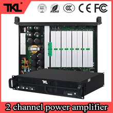 TKL PH2 8ohm 2ch * 1500W professional amplifier stage performance subwoofer dj power amplifier