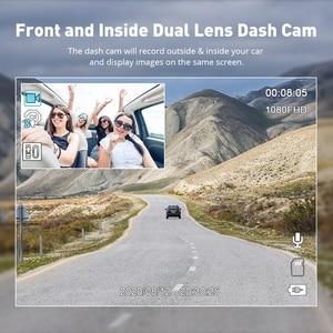 Image 3 - Оригинальный AZDOME GS65H видеорегистратор мини с двумя объективами Автомобильный видеорегистратор Novatek 96655 Full HD 1080P автомобильная камера ночного видения для Uber Lyft Taxi