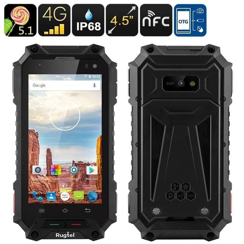 Rugtel X10 SmartPhone IP68 Waterproof 2GB 16GB 4.5