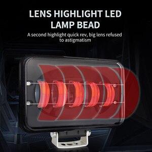 Image 2 - 50W מתח גבוה אור בר 6000K עבודת המכונית אור קומבו קרן עבור אוטומטי off road 4x4 עבור jeep SUV אופנועים משאית טנדר עגלת UTB