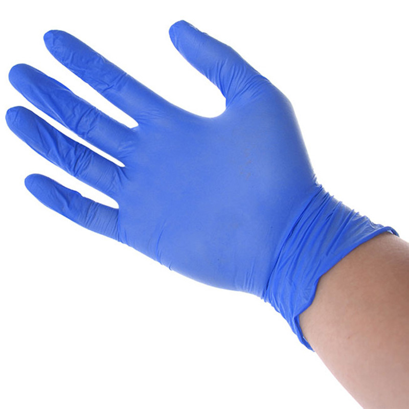 Nitrile Disposable Gloves, 200 Pcs Gloves, Food Grade Gloves for Painting,Finishing,Cleaning,Safety Work