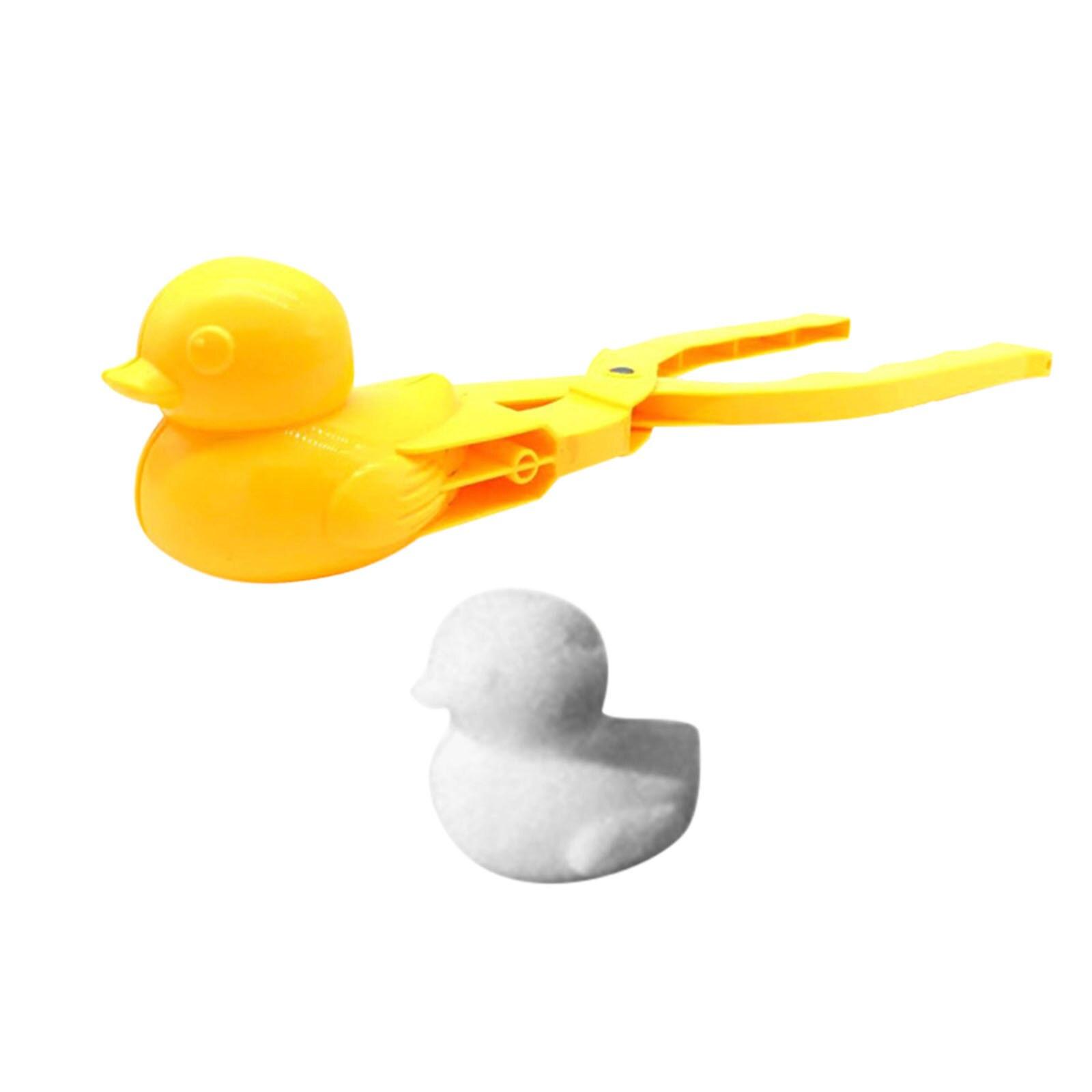 2021 симпатичные игрушки для детей снег утки клипса уличные Зимние Симпатичные утки Снеговик Снег песок форма инструмент игрушки для детей # ...