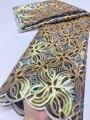 XIYA класса люкс Handcut отверстие тяжелые блестки африканская кружевная ткань 2021 высокого качества для ухода за кожей в нигерийском стиле для ж...