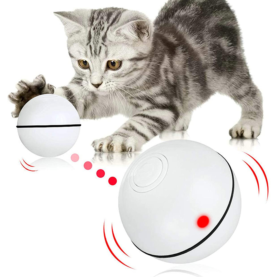 Умная игрушка для кошек, интерактивная электронная самовращающаяся игрушка 1